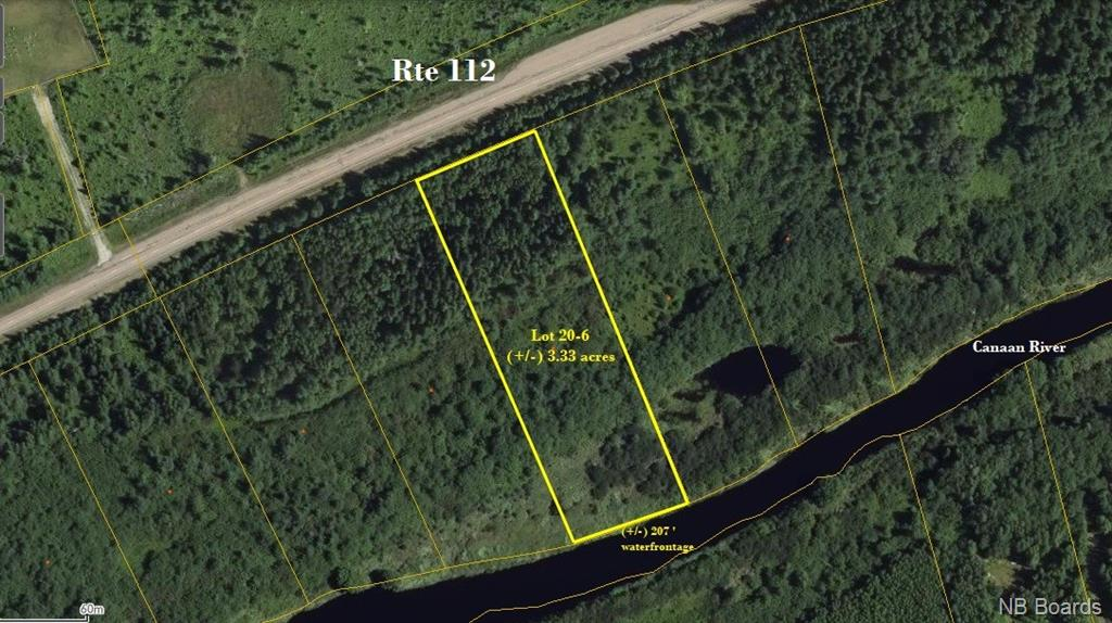 Lot 20-6 Route 112, Canaan Forks New Brunswick, Canada