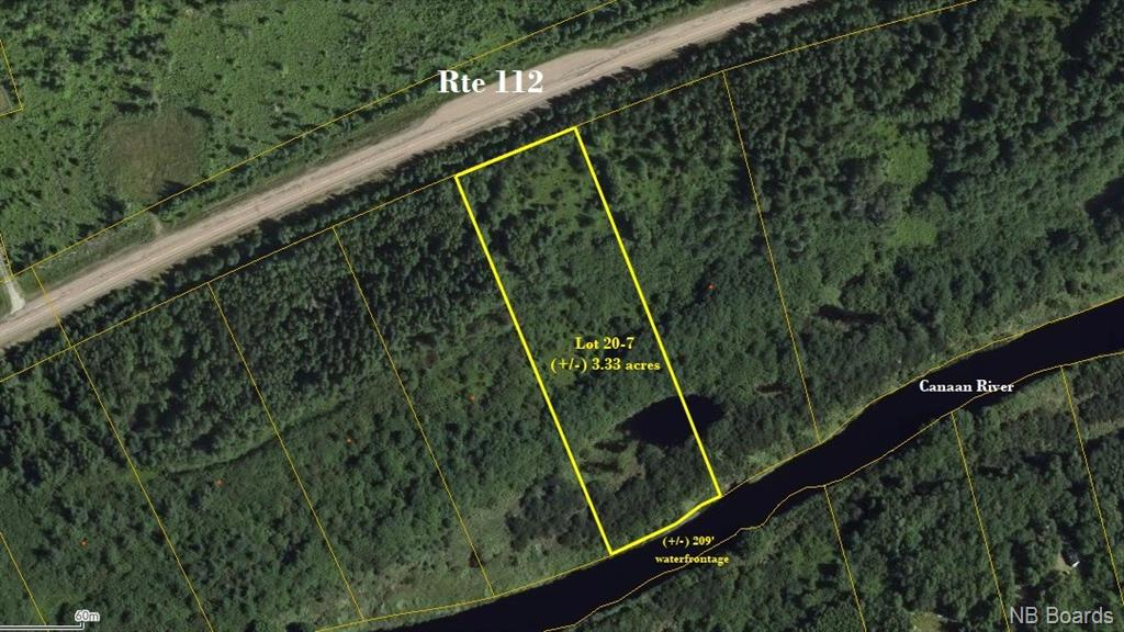 Lot 20-7 Route 112, Canaan Forks New Brunswick, Canada