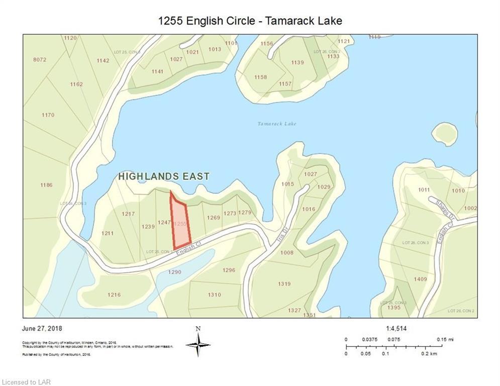 1255 ENGLISH CIRCLE ., Gooderham, Ontario, Canada