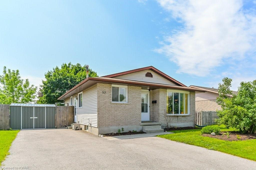 53 Millwood Crescent, Kitchener Ontario, Canada