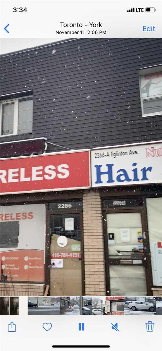 2266a Eglinton  Ave W, Toronto Ontario, Canada