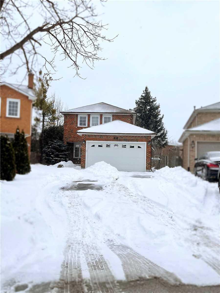 20 Mcnairn Crt, Richmond Hill Ontario, Canada