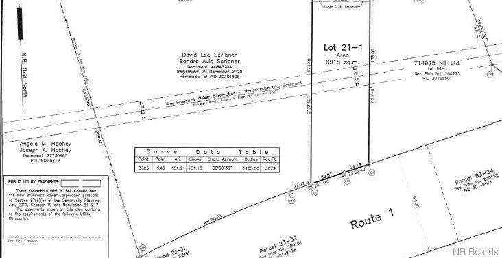 Lot #21-1 Centennial Road, Passekeag, New Brunswick, Canada