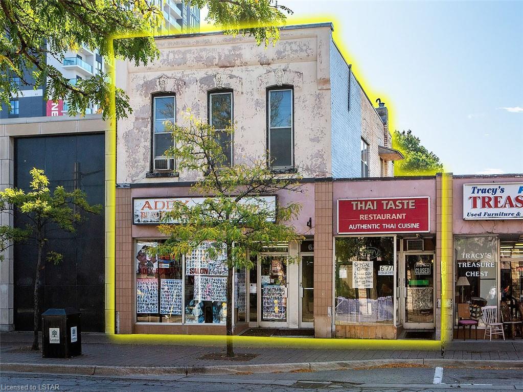 671-673-675 DUNDAS Street, London Ontario, Canada