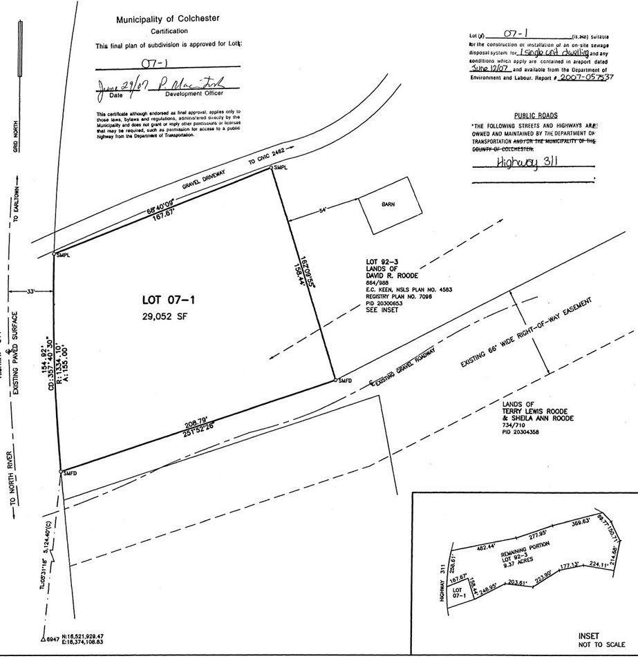 Lot 2462 Highway 311, Central North River Nova Scotia, Canada
