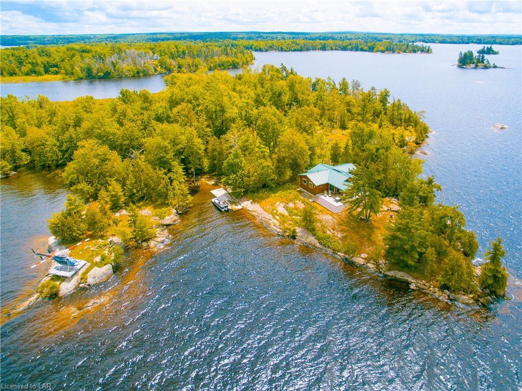 F Island Lake Nipissing Lake, Callander Ontario, Canada