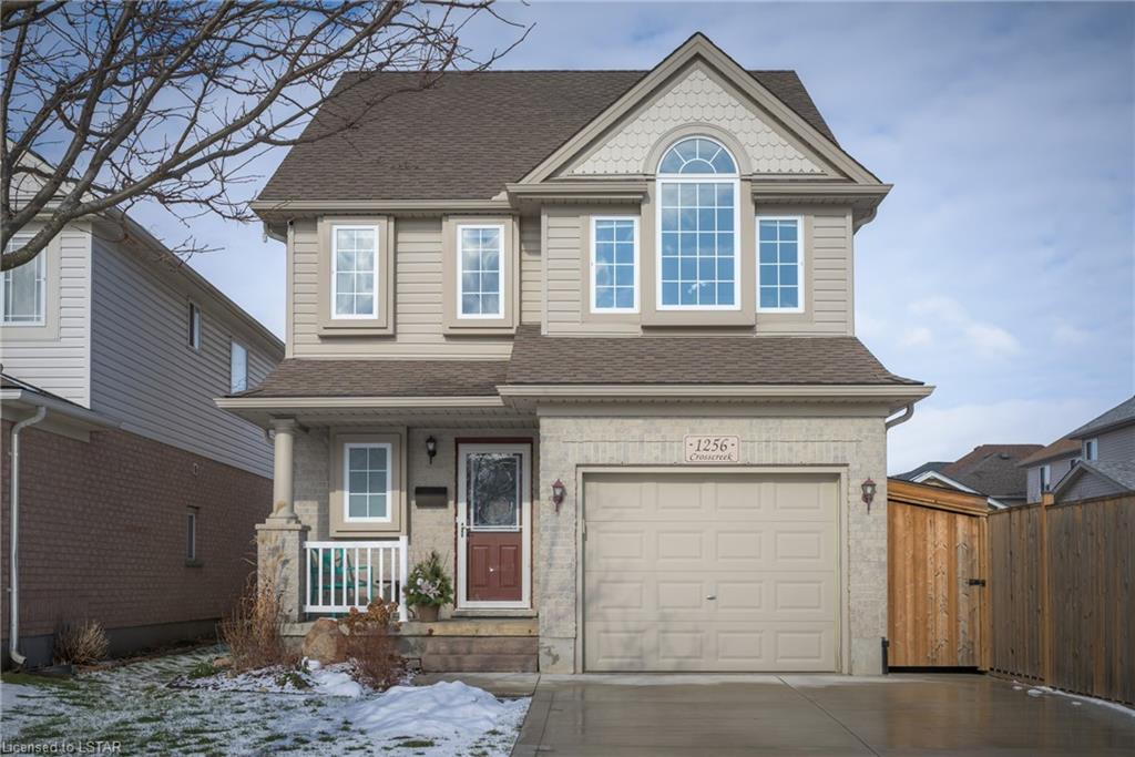 1256 Crosscreek Crescent, London Ontario, Canada