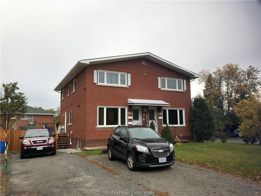 533-535 Burton Avenue, Sudbury Ontario, Canada