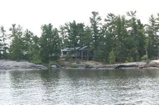 Wb199-1 Fisherman`s Pt. Island, West Nipissing Ontario