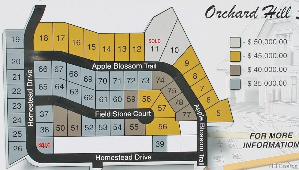 Lot #72 Apple Blossom Trail, Hampton New Brunswick, Canada