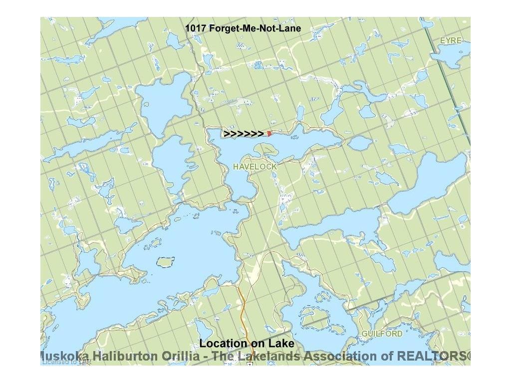 1017 Forget-me-not Lane, Haliburton Ontario