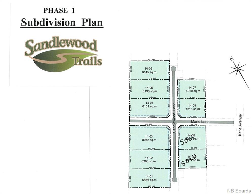 Lot 14-01 Sandlewood Lane, Douglas New Brunswick, Canada