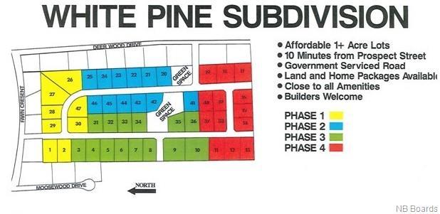 / White Pine Subdivision, Hanwell, New Brunswick, Canada