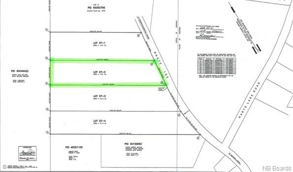 Lot 07-2 Route 102, Gagetown, New Brunswick, Canada