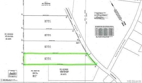 Lot 07-4 Route 102, Gagetown, New Brunswick, Canada