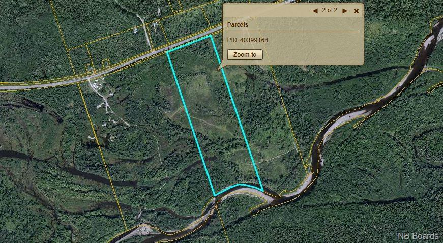 LOT Route 108, Renous New Brunswick, Canada