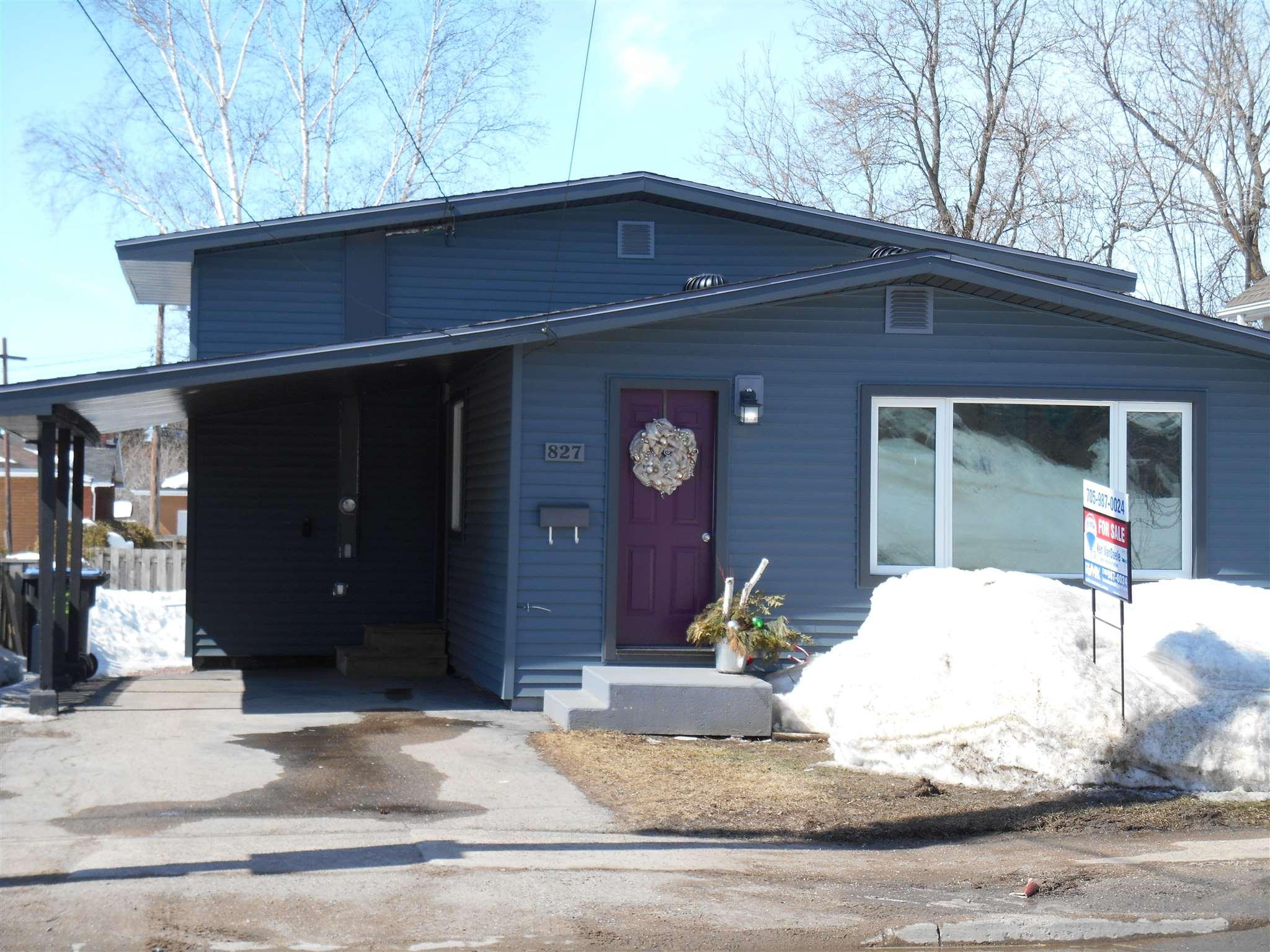 827 Peoples Road, Sault Ste. Marie Ontario, Canada