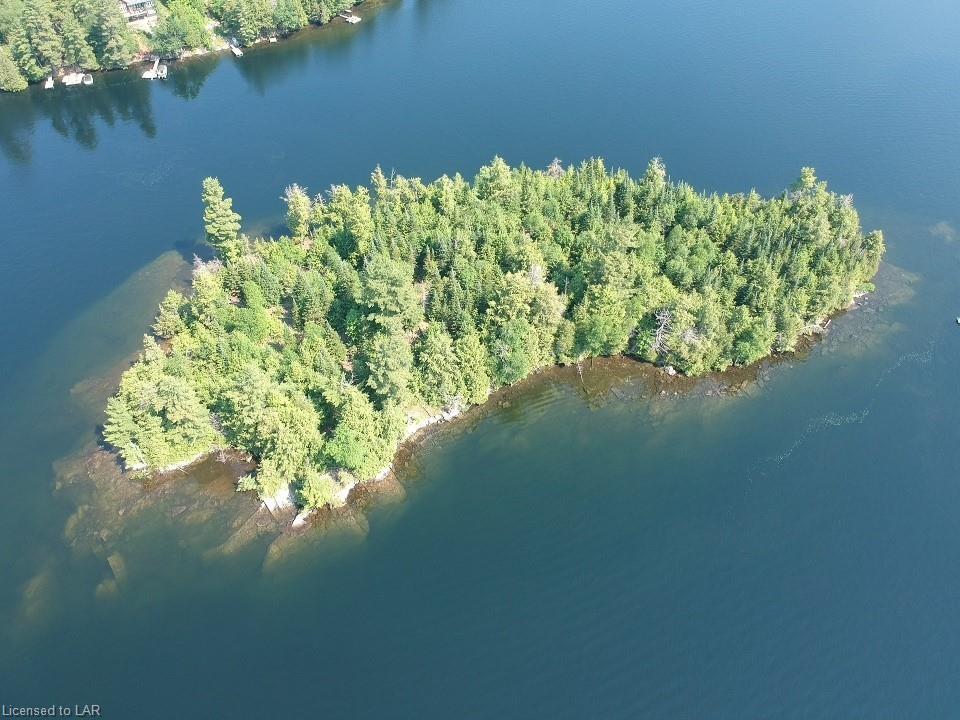 Kennisis Lake Island, Haliburton Ontario, Canada