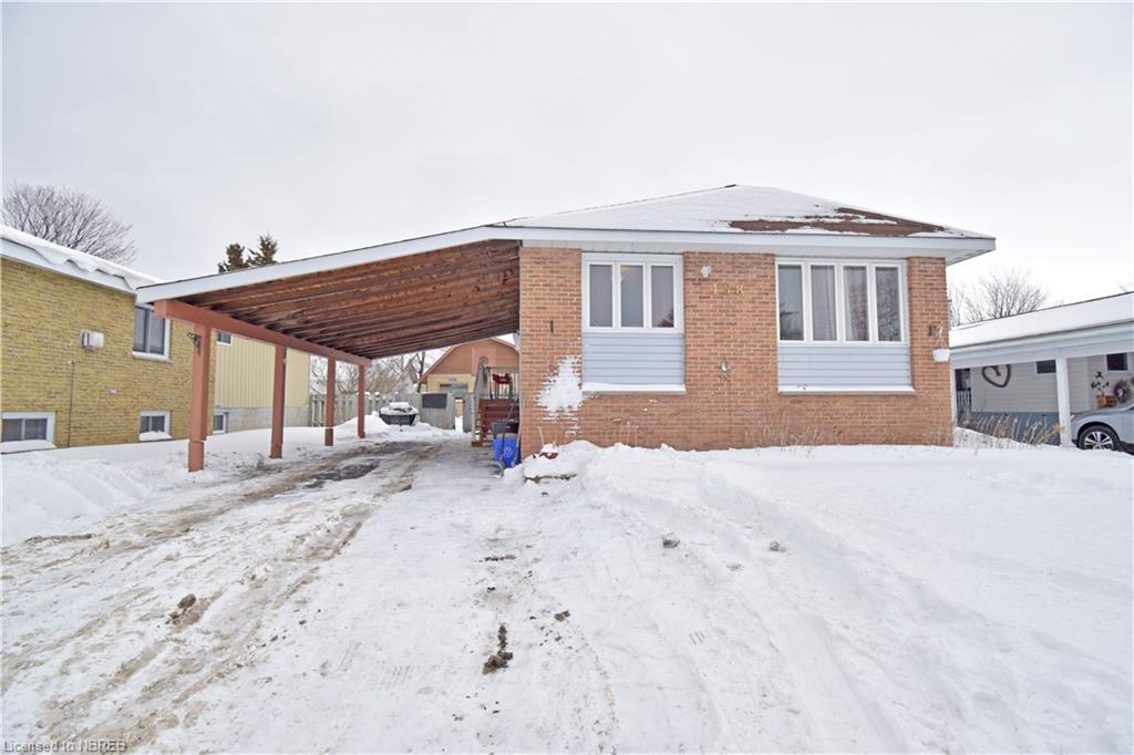 458 CARTIER Street, North Bay Ontario, Canada
