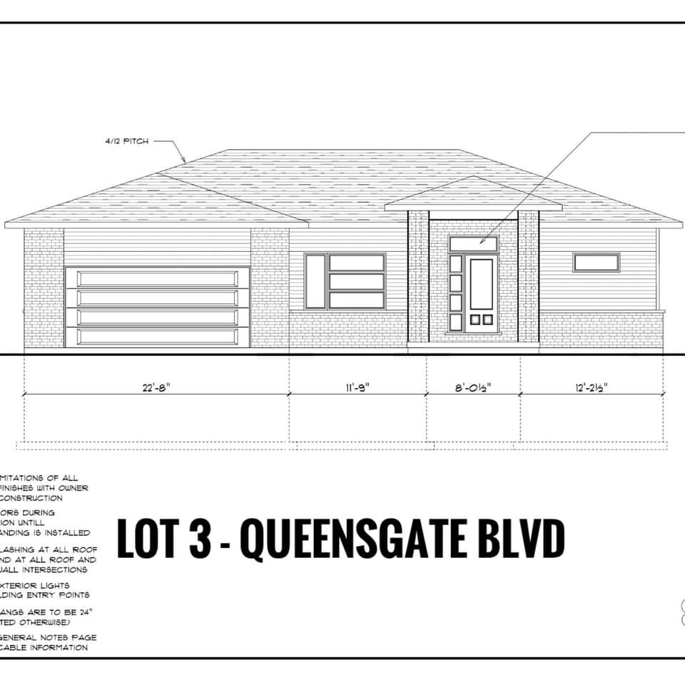 Lot 3 Queensgate Boulevard, Sault Ste. Marie Ontario, Canada